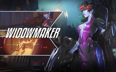 Widowmaker in Overwatch wallpaper