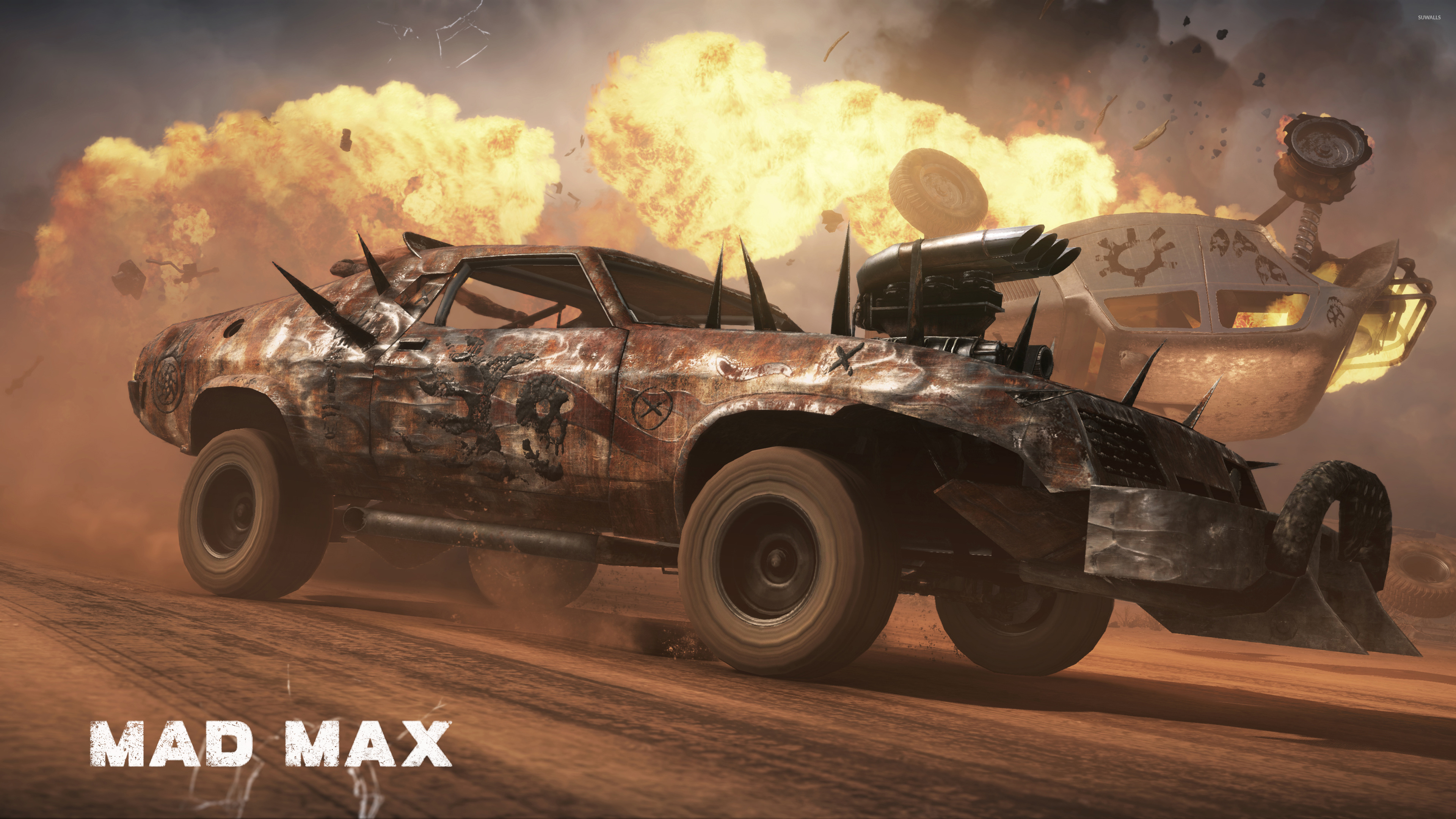 Wild Hunt in Mad Max wallpaper