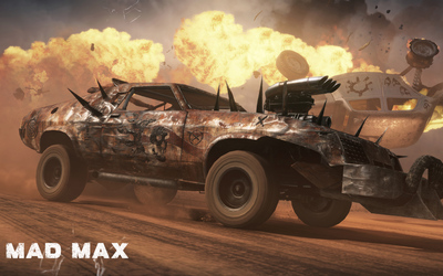 Wild Hunt in Mad Max wallpaper