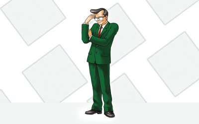 Winston Payne - Phoenix Wright: Ace Attorney wallpaper