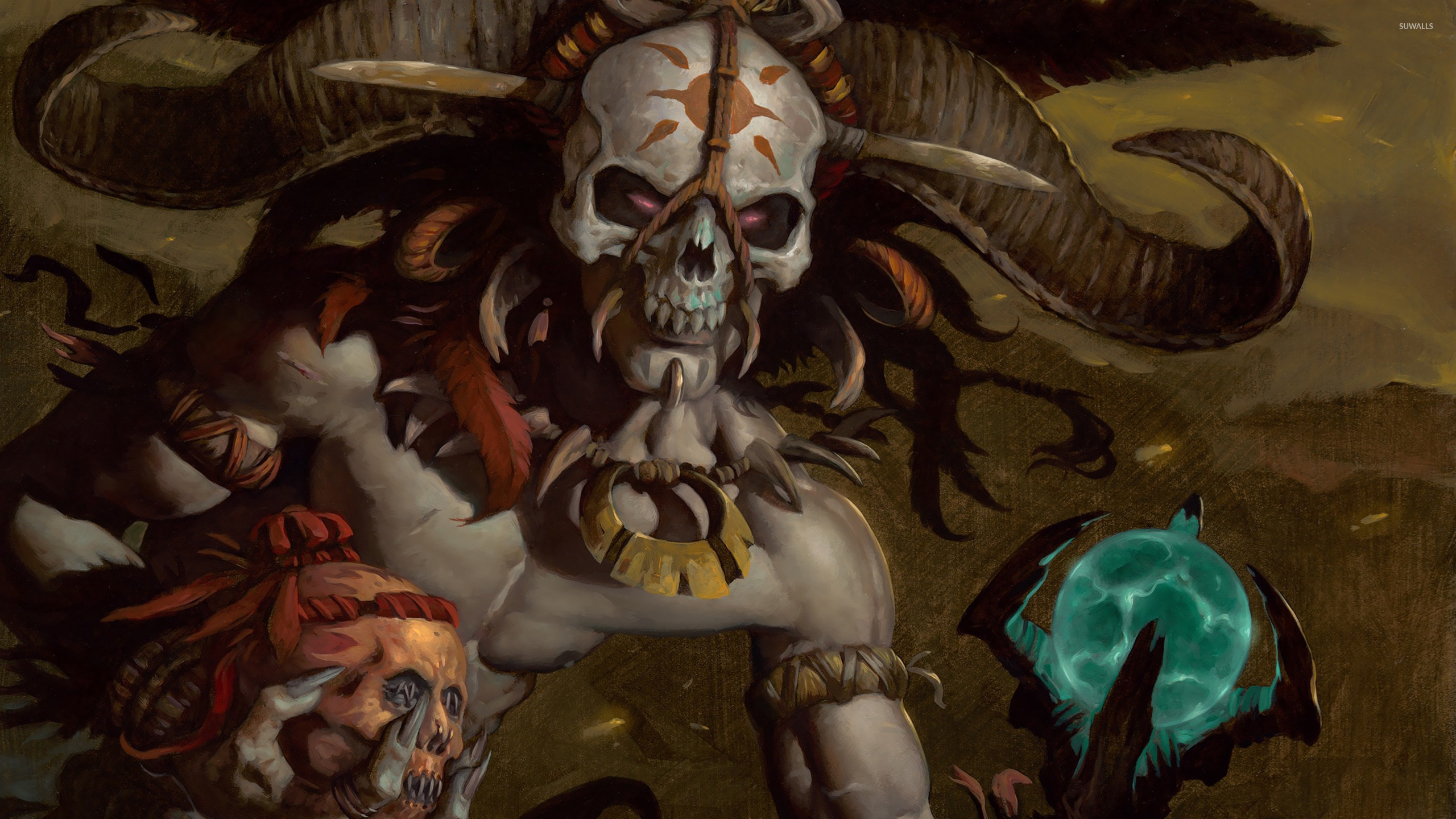 Diablo 3 Witch Doctor Wallpaper | www.pixshark.com ...