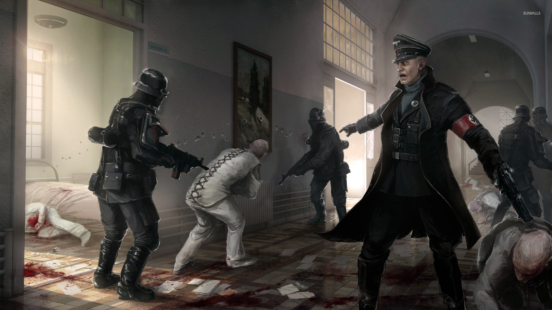 Wolfenstein The New Order 6 Wallpaper Game Wallpapers 21677