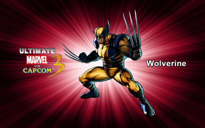 Wolverine - Ultimate Marvel vs. Capcom 3 wallpaper