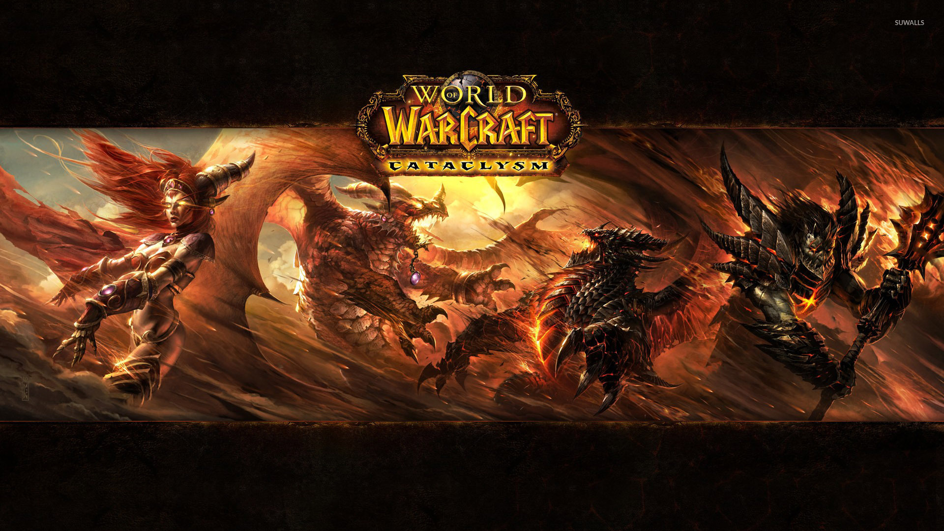 World Of Warcraft Cataclysm Wallpaper Game Wallpapers