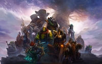 World of Warcraft warriors wallpaper 2880x1800 jpg