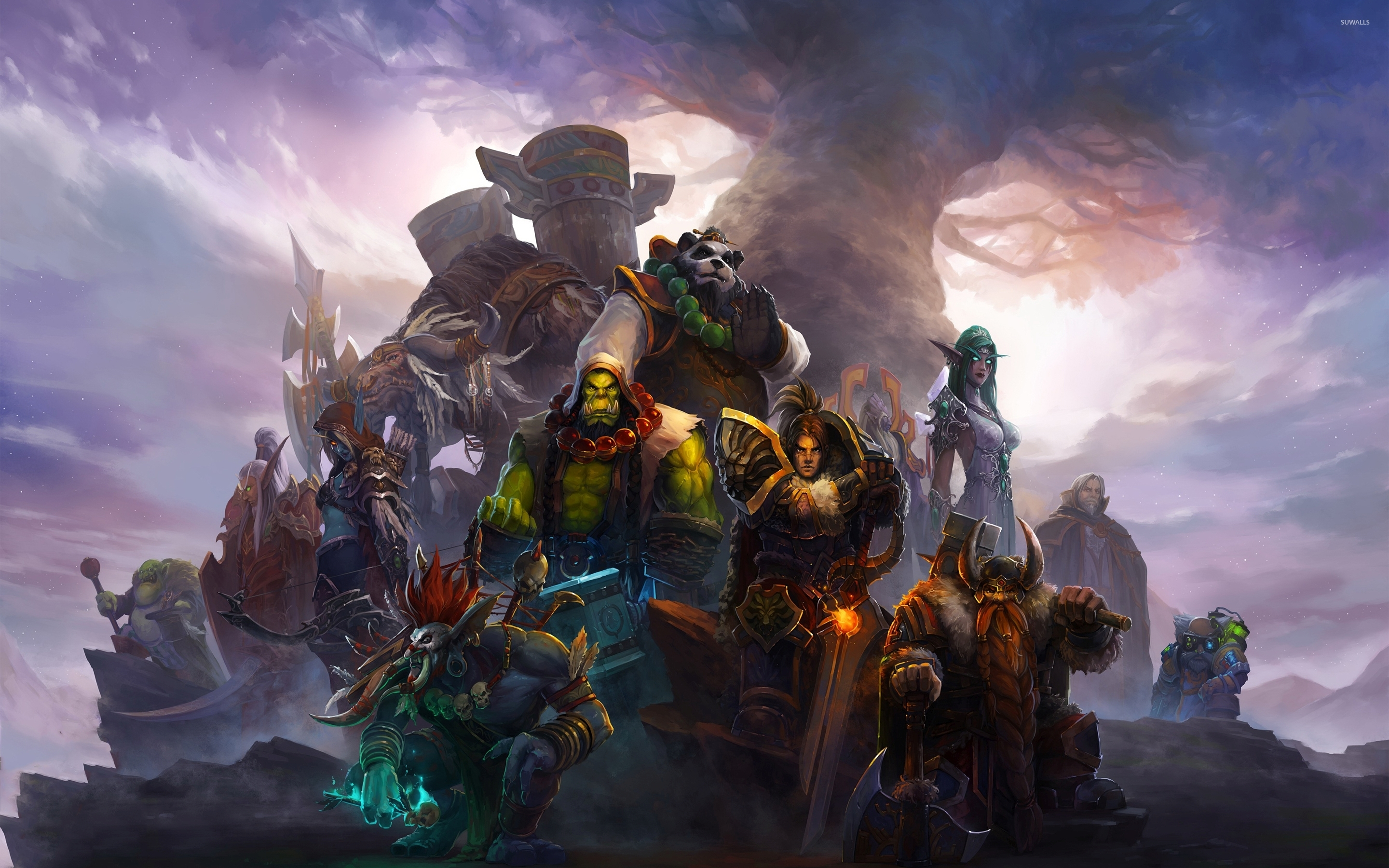 World of Warcraft warriors wallpaper - Game wallpapers ...