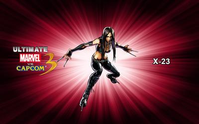 X-23 - Ultimate Marvel vs. Capcom 3 wallpaper