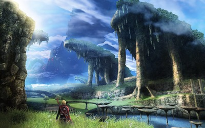Xenoblade Chronicles wallpaper