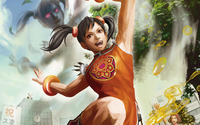 Xiaoyu - Street Fighter X Tekken wallpaper 2560x1440 jpg