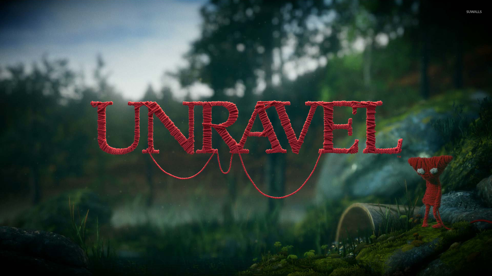 Yarny In The Forest Unravel Wallpaper Game Wallpapers 53811