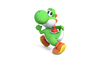Yoshi - Super Smash Bros. wallpaper