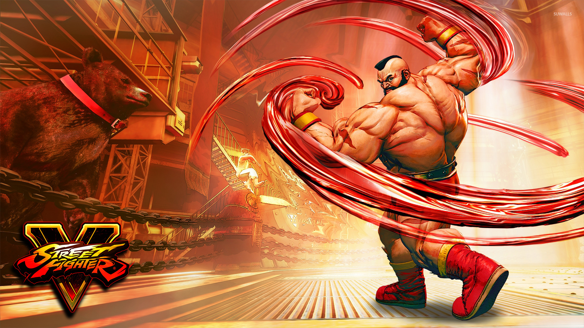 zangief in street fighter v wallpaper - game wallpapers - #53797