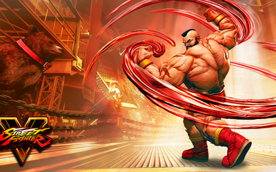 Zangief in Street Fighter V wallpaper