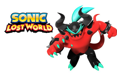 Zavok - Sonic Lost World wallpaper