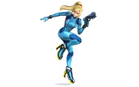 Zero Suit Samus - Super Smash Bros. wallpaper 2880x1800 jpg