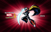 Zero - Ultimate Marvel vs. Capcom 3 wallpaper 2560x1600 jpg