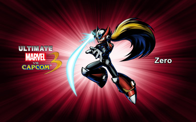 Zero - Ultimate Marvel vs. Capcom 3 wallpaper
