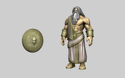 Zeus - Smite [2] wallpaper