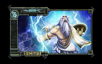 Zeus - Smite wallpaper