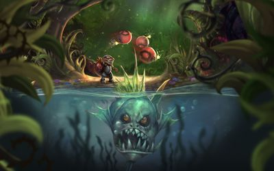 Ziggs from League of Legends wallpaper