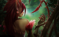 Zyra - League of Legends wallpaper 1920x1080 jpg