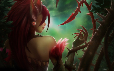 Zyra - League of Legends wallpaper