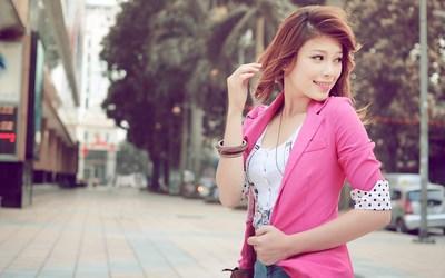 Asian redhead wallpaper