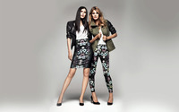 Constance Jablonski and Sui He wallpaper 1920x1200 jpg