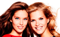 Emily DiDonato and Michaela Hlavackova wallpaper 1920x1200 jpg
