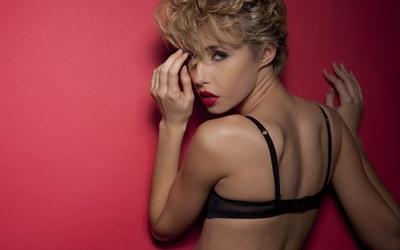 Exotic blonde wallpaper
