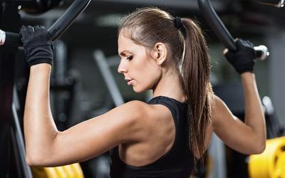 Fitness girl [6] wallpaper