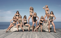 Girls in swimsuits wallpaper 1920x1200 jpg