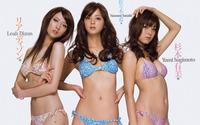 Leah Dizon, Nozomi Sasaki and Yumi Sugimoto wallpaper 1920x1200 jpg
