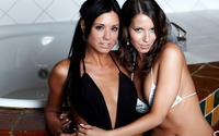 Lizzie Ryan and Ashley Bulgari wallpaper 2560x1440 jpg