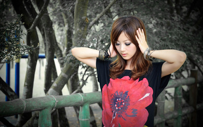 Mikako Zhang Kaijie [6] wallpaper