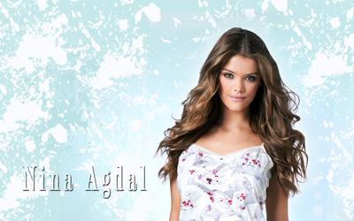 Nina Agdal [18] wallpaper