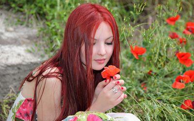Redhead wallpaper