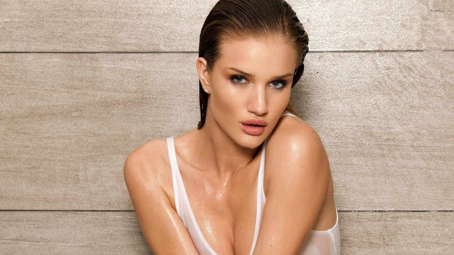 wet Rosie huntington whiteley