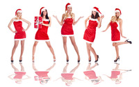 Santa's little helpers wallpaper 3840x2160 jpg