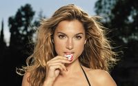 Shana Hiatt with a poker chip wallpaper 1920x1080 jpg