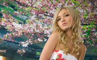 Spring blonde wallpaper 1920x1200 jpg