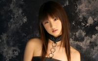 Superb girl in a leather blouse wallpaper 1920x1200 jpg