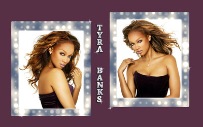 Tyra Banks [18] wallpaper
