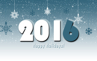 2016 Happy Holidays! wallpaper 3840x2160 jpg