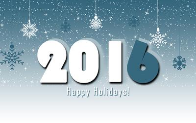 2016 Happy Holidays! wallpaper