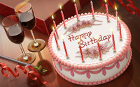 Birthday cake wallpaper 1920x1200 jpg