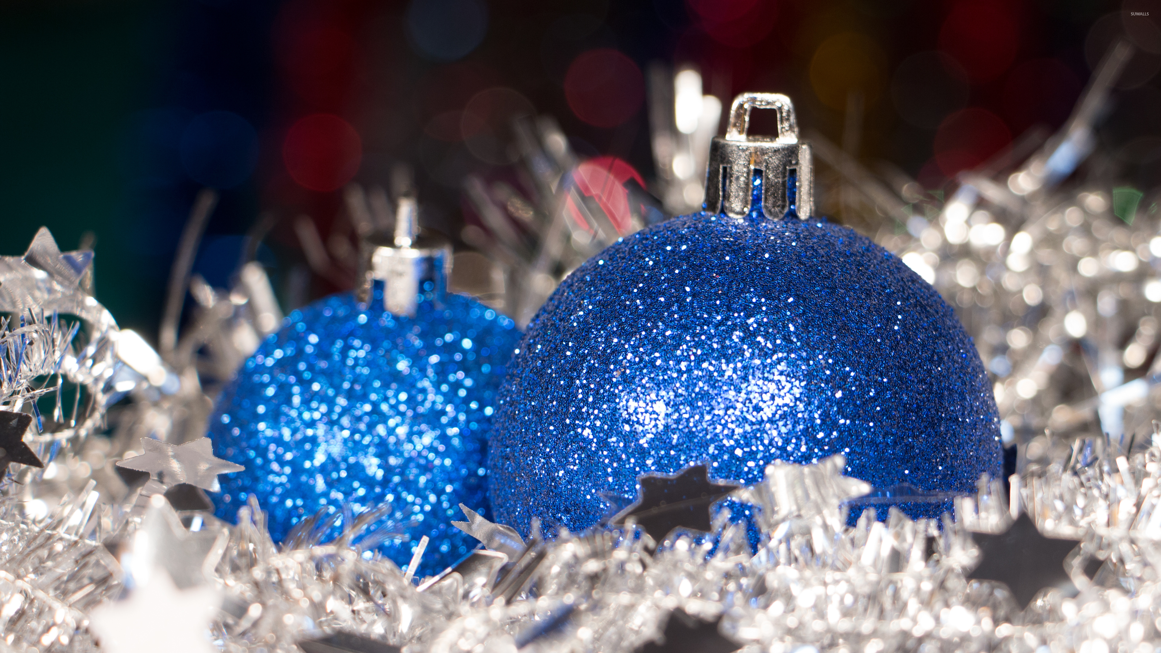blue and silver christmas wallpaper wwwimgkidcom the