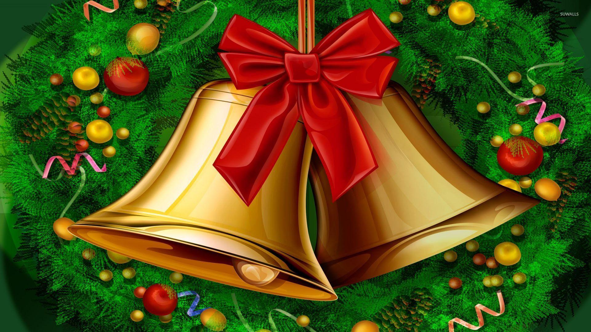 Christmas Bells Wallpaper Holiday Wallpapers 9312