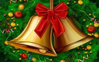 Christmas bells wallpaper 1920x1080 jpg