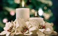 Christmas candles [3] wallpaper 1920x1200 jpg
